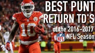 NFL: Best Punt Return Touchdowns of '16-17 Season