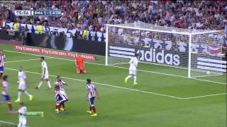 Arda Turan - Real Madrid 1 - 2 Atletico Madrid.. (-2.GOL-) 13.09.2014 ᴴᴰ