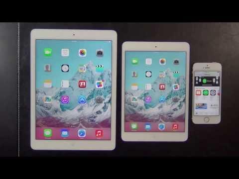 Ipad Compared to Ipad Air ▶ Ipad Air vs Ipad Mini 2