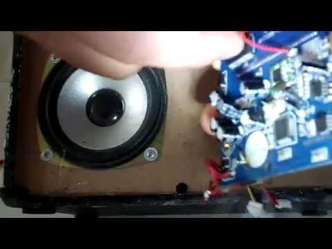 abriendo un reproductor de usb