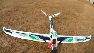 DuraFly Zephyr 70mm EDF Jet Glider 1530mm  First Flight After Repair