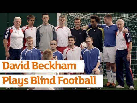 David Beckham Plays Blind Football -- Paralympics -- Sainsbury's -- Full Version