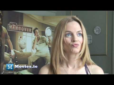 Heather Graham Talks The Hangover