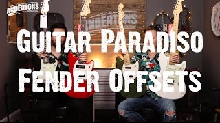 Guitar Paradiso Fender Offsets Duo Sonics Mustangs