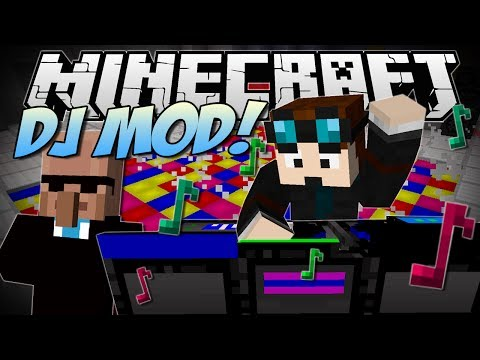 Minecraft DJ PARTY MOD Dr Trayaurus Ultimate Party Mod Showcase