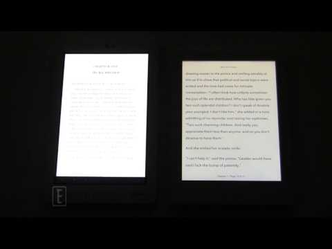 Kobo Aura HD vs Kobo ARC Nightime Reading Test