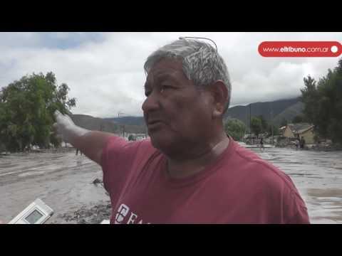 El día despues del alud en Volcán: cientos de familias lo perdieron todo