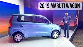 2019 Maruti Suzuki Wagon R First Look - Most Detailed