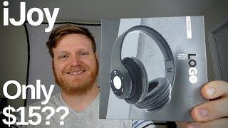 iJoy Logo Headphones Review - $15 Headphones?