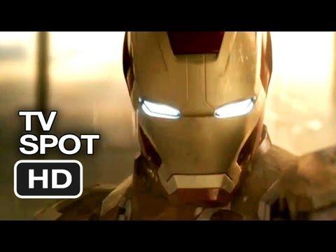 Iron Man 3 International TV SPOT - Power (2013) - Robert Downey Jr. Movie HD