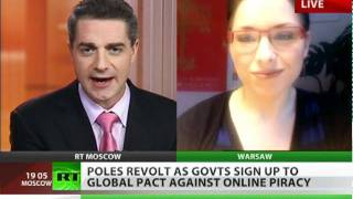 ACTA Anger_ Poland signs up to 'censorship' without debate