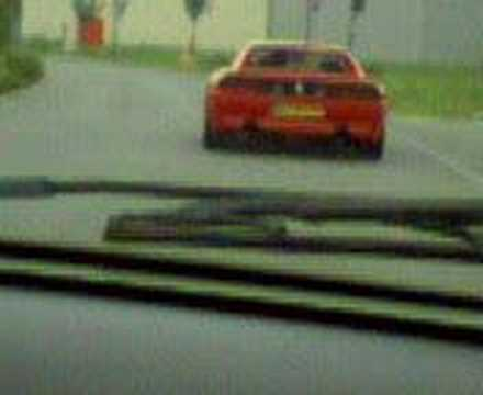 ma clio VS ferrari 348 gtb