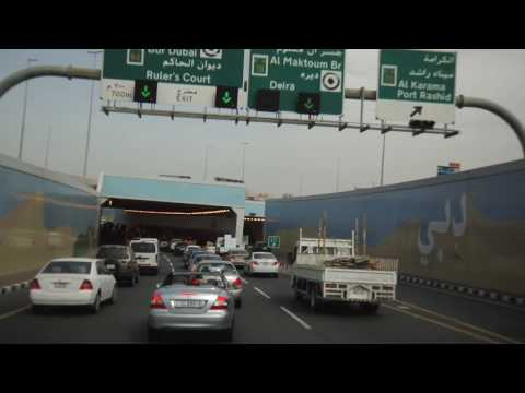 Dubai, a drive along Sheikh Zayed Road in HD!