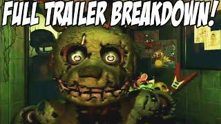 Five Nights At Freddys 3: FULL TRAILER + BREAKDOWN! GOLDEN BONNIE!