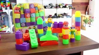 Bộ đồ chơi xếp hình khối cho bé yêu thỏa sức sáng tạo