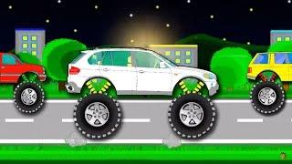 Мультик. Монстр трак - УЧИМ ЦВЕТА. Машинки для детей. Monster truck