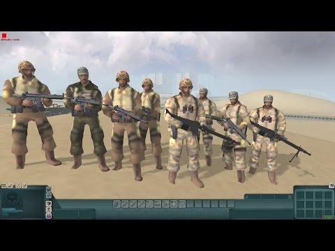 Battle of Khorramshahr, Iran Iraq War (Men of War Red Rising Mod)