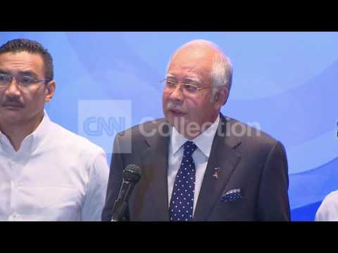 MALAYSIA AIRLINES: PRIME MINISTER PRESSER