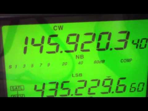 CW beacon ARISSat-1 Satellite