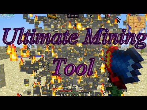 Ultimate Mining Tool in Minecraft Feed The Beast