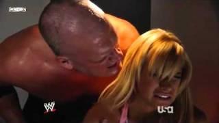 Wwe Raw 15 12 2008 Kelly Kelly Amp Kane Backstage