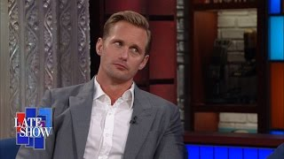 Alexander Skarsgård Chokes Up When Recalling His Cheat Day