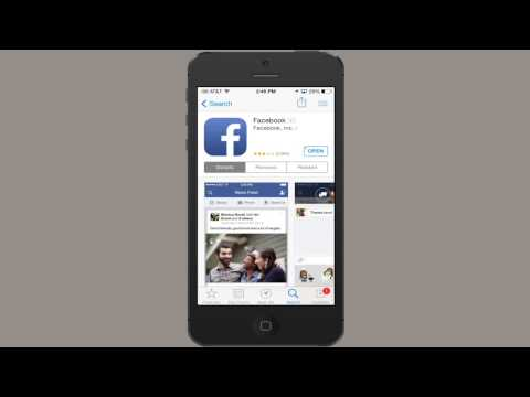 How to Download Facebook on the iPhone 4S : iPhones & Apps