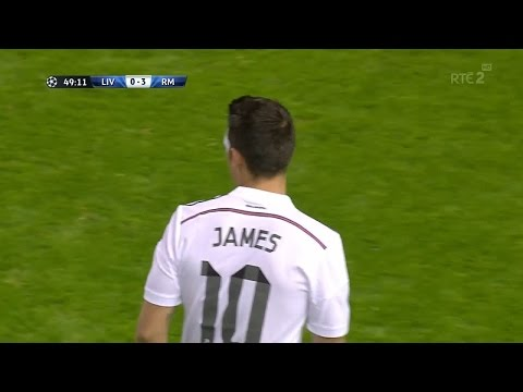 James Rodriguez vs Liverpool HD 720p  (22/10/2014)