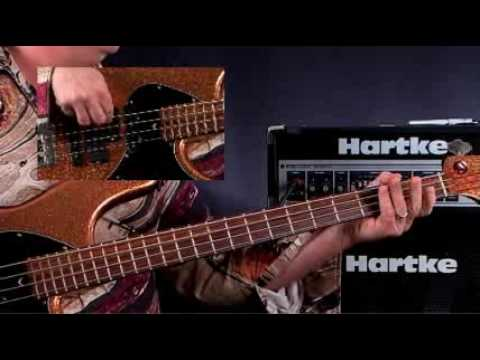 How To Play Bass Guitar - Lessons For Beginners - Straight Eigths Rock