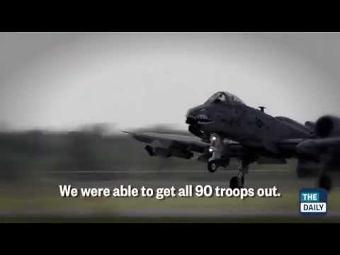 A-10's Daring Afghanistan Attack