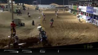 2017 MXGP of Qatar MX2 race 2 Samuele Bernardini Crash