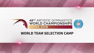 2018 Men's World Team Selection Camp - Day 2