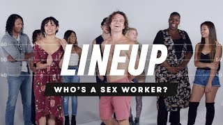 Lineup: People Guess Who's a Sex Worker from a Group of Strangers
