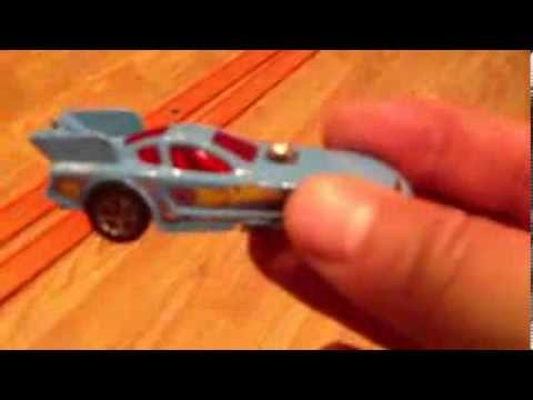 Hot wheels car racing: 89 mustang funny car vs barbiric :1st round race
