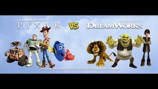 Desprezo Infinito - Pixar vs Dreamworks