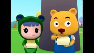 Мультики для малышей - Руби и Йо-Йо - Обед для медвежонка