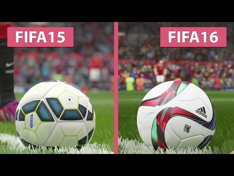FIFA 15 vs. FIFA 16 Graphics Comparison captured on PS4
