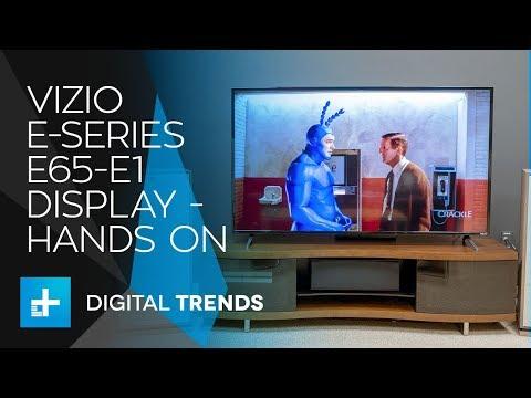 Vizio E-Series E65-E1 Display - Hands On Review