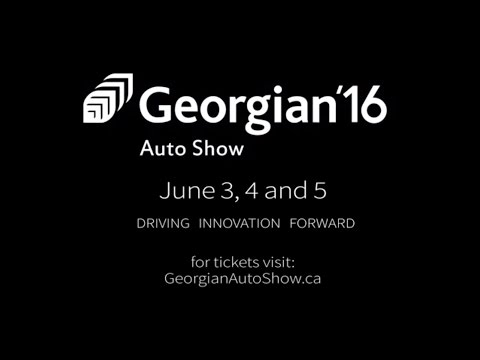 Come check out the 2016 Georgian Auto Show June 3, 4 and 5 at the Barrie campus!