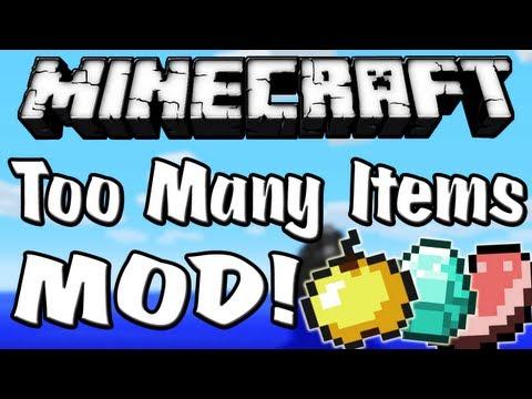 Minecraft 1.4.2 - Como instalar Too Many Items MOD - ESPAÑOL TUTORIAL