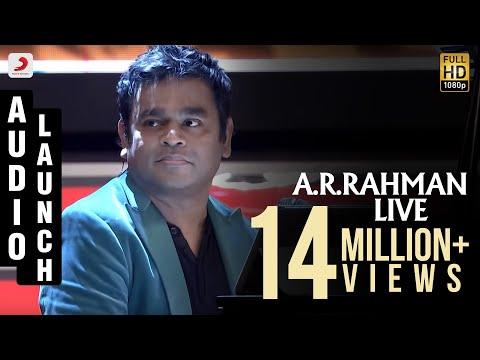 Mersal Audio Launch - Live Performance A R Rahman | Vijay | Samantha, Kajal, Nithya Menen | Atlee