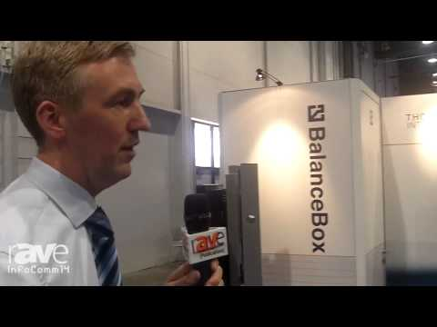 InfoComm 2014: Thomas Regout Talks About its BalanceBox Mounting System