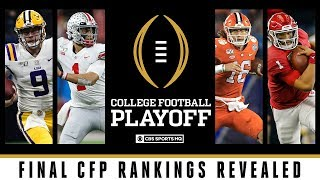 Final CFP Rankings: LSU jumps Ohio State | College Football Playoff | CBS Sports HQ