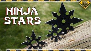 DIY Ninja Throwing Stars