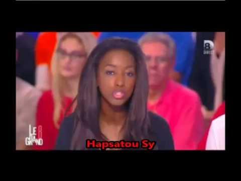 Hapsatou Sy insultée parce qu'elle a défendu Willy Sagnol