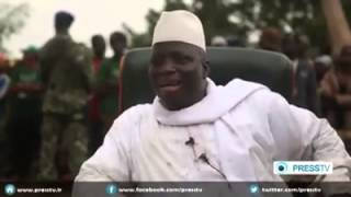 GAMBIA | Président Yahya Jammeh | PRESS TV