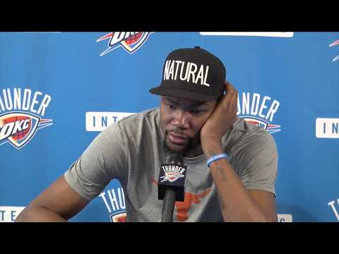 Thunder exit interviews: Kevin Durant