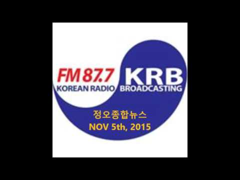 HuNoo(남헌우) - KRB NY Radio Korea NEWS about Community Art Project 2015(Nov 5th, 2015)