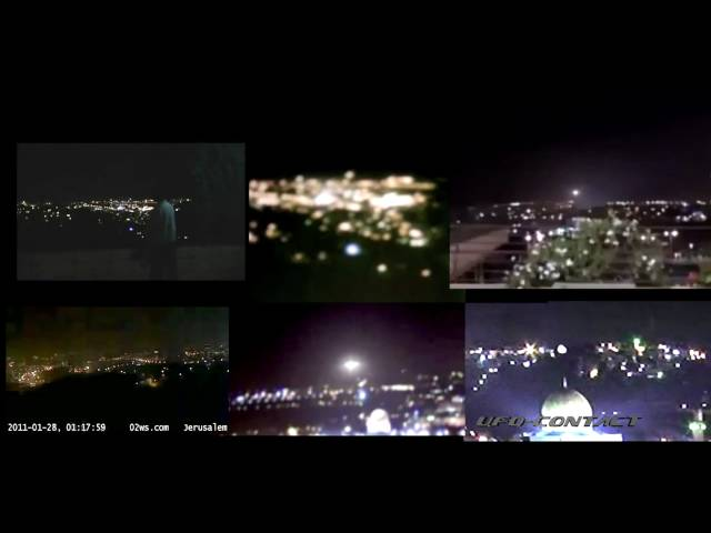 Jerusalem UFO Contact 1/28/2011 - All 6 Sources