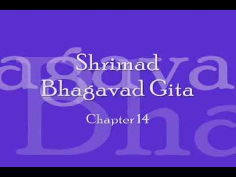 Bhagavad Gita - Chapter 14 (complete Sanskrit Recitation) video